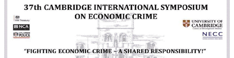 37th Cambridge International Symposium on Economic Crime