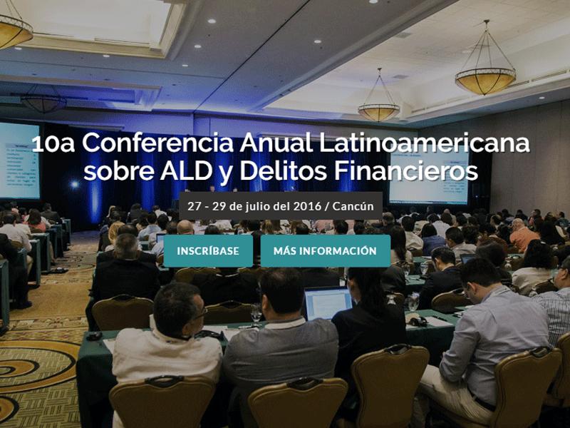 10a Conferencia Anual Latinoamericana sobre ALD y Delitos Financieros