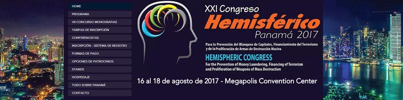 XXI Congreso Hemisférico para la Prevención del Blanqueo de Capitales, Financiamiento del Terrorismo y de la Proliferación de Armas de Destrucción Masiva –  PANAMÀ